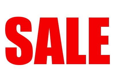 SALE! SALE! SALE! 21st – 23rd Oct 2015
