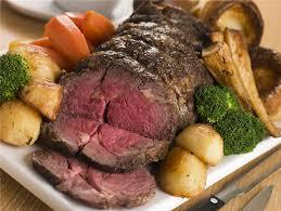 Rib Eye Roast Beef Special