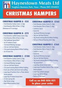 Christmas Hampers from Haynestown Meats