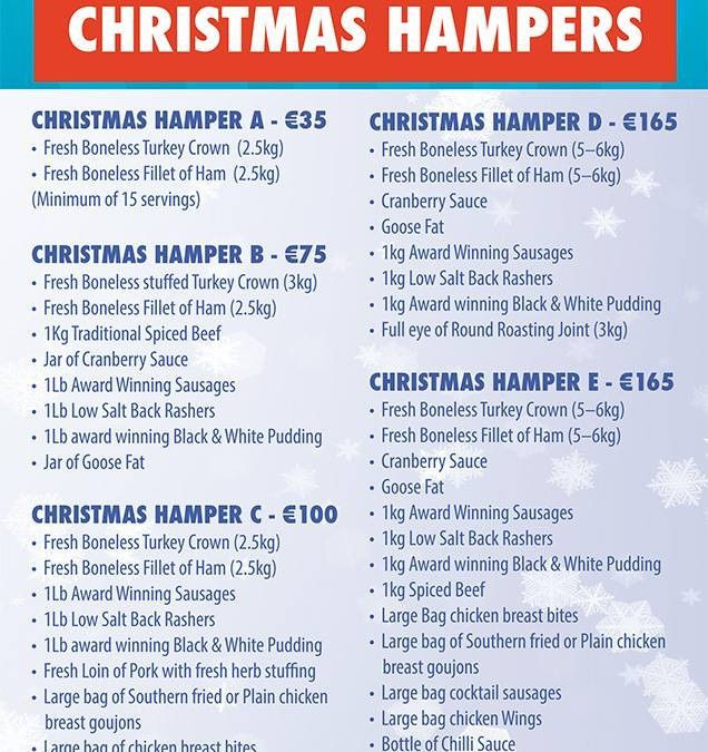 Christmas Hamper Ideas 2014