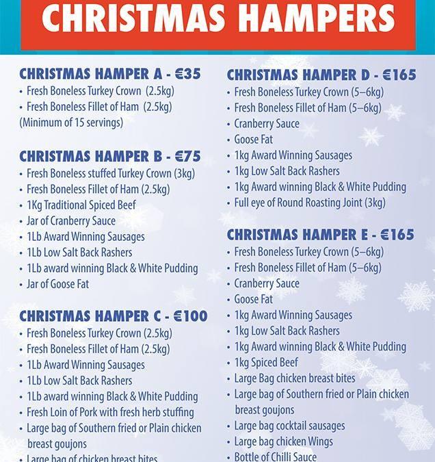 Christmas Hamper Ideas 2014